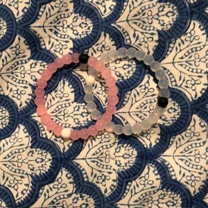 pink and clear lokai
